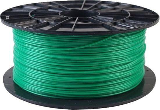 Plasty Mladeč tisková struna (filament), PLA, 1,75mm, 1kg (F175PLA_GR), zelená