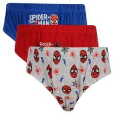 E plus M 3PACK chlapčenské slipy Spiderman viacfarebné (SPIDER-C) - veľkosť 104