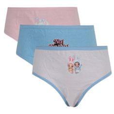 E plus M 3PACK dievčenské nohavičky Na! Na! Na! Surprise viacfarebné (NANA-011) - veľkosť 98