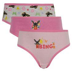E plus M 3PACK dievčenské nohavičky E plus Bing viacfarebné (BNG-077) - veľkosť 92