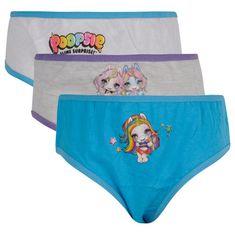 E plus M 3PACK dievčenské nohavičky E plus Poopsie viacfarebné (POP-009) - veľkosť 104