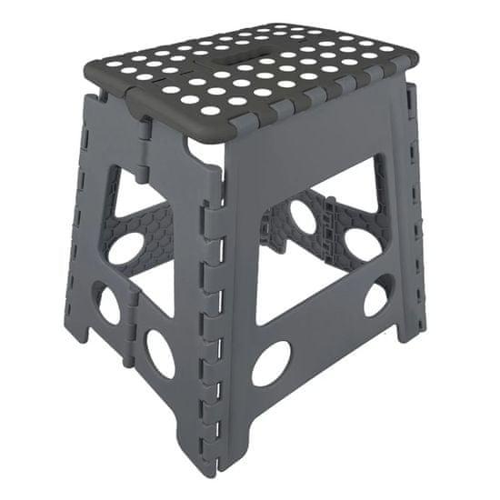 shumee ProPlus Skladacia stolička do karavanu alebo na kempovanie, 39.5 cm, 770826