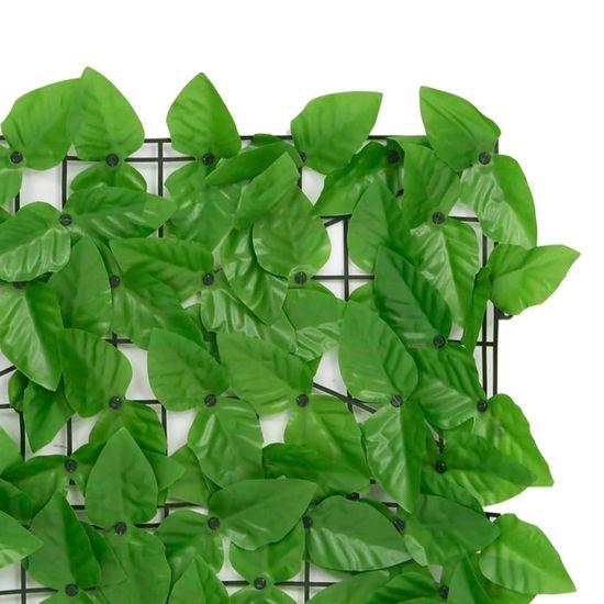 shumee zöld leveles erkélyparaván 300 x 75 cm
