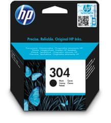 HP Tinta patron HP 304 (N9K06AE), fekete