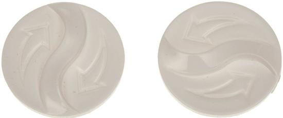 Cassida víčka plexi pro přilby EVO, CASSIDA - ČR (bílé, pár) VISOR CAPS EVO WHITE
