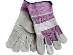 """Extol Craft Rukavice kožené s vyztuženou dlaní, 10"""", velikost 10"""""""