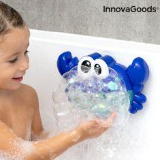 InnovaGoods Hudobný krab s mydlovými bublinami do vane Crabbly