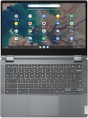 Lenovo Chromebook Flex 5-13IML05, šedá (82B80022MC)