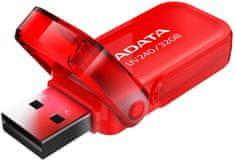 A-Data UV240 16GB červená (AUV240-16G-RRD)