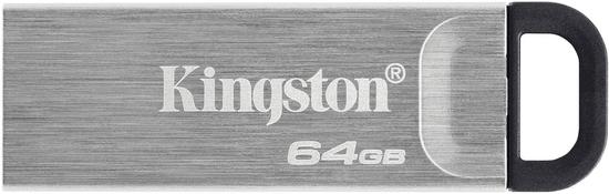 Kingston DataTraveler Kyson, - 64GB, strieborná (DTKN/64GB)