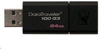 Kingston DataTraveler 100 G3 64GB, (DT100G3/64GB)
