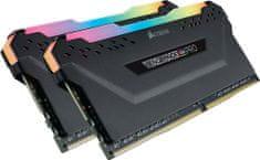 Corsair Vengeance RGB PRO 32GB (2x16GB) DDR4 3200 CL16, černá