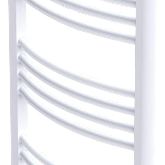 Greatstore Kopalniški cevni radiator za centralno ogrevanje zaobljen 500x1424 mm