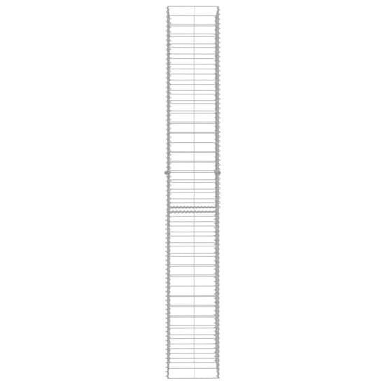 shumee Gabiónové koše 3 ks, pozinkovaná oceľ 25x25x197 cm
