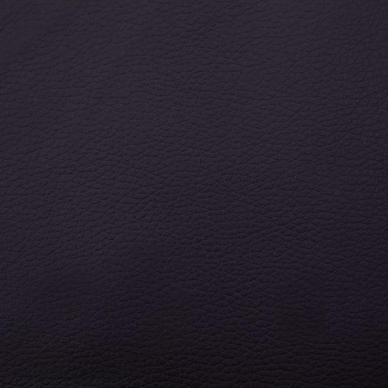 Greatstore Lavička 106 cm, hnedá, umelá koža