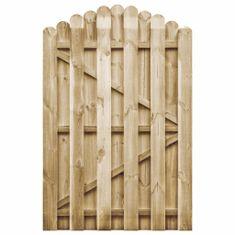 shumee Zahradní branka impregnovaná borovice 100 x 150 cm
