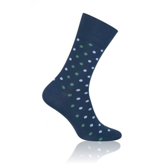 More Pánské ponožky More Elegant 051 tmavě modrá 43-46