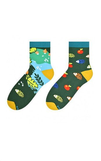More Dámské nepárové ponožky More 078 Béžová 39-42