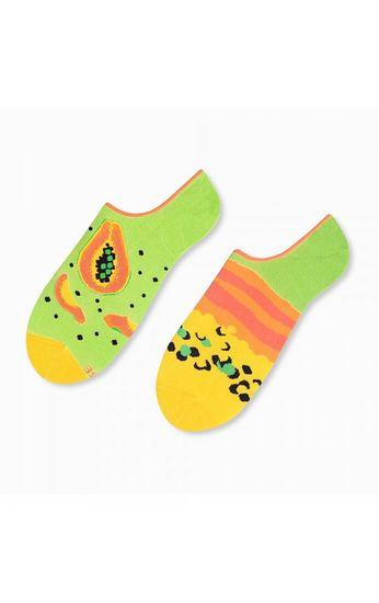 More Asymetrické pánské ponožky ťapky More 009 zielony jasny 39-42