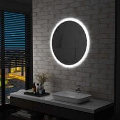 Greatstore Koupelnové zrcadlo s LED osvětlením 80 cm