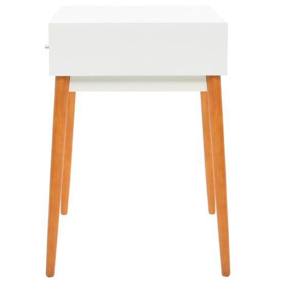 shumee Toaletný stolík so zrkadlom, MDF, 60x50x86 cm
