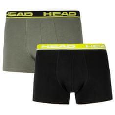 Head 2PACK pánske boxerky viacfarebné (701202741 001) - veľkosť L