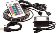 OPTY USB LED pás 2x 50cm, RGB, dálkový ovládač
