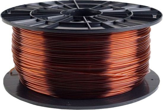 Plasty Mladeč tisková struna (filament), PETG, 1,75mm, 1kg F175PETG_TBR, transparentné hnedá