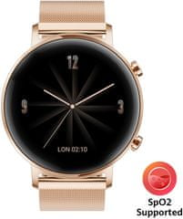 Huawei Watch GT 2 Classic Edition 42 mm, Rosa Gold (55024610)