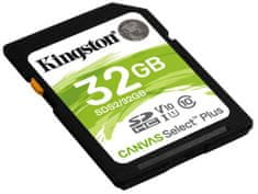 Kingston SDHC Canvas salect Plus 32GB 100MB/s UHS-I (SDS2/32GB)