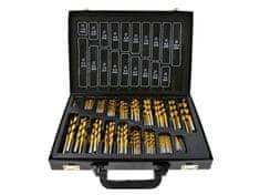 Keltin Sada titanových vrtáků HSS do kovu 170ks 1.0 - 10mm