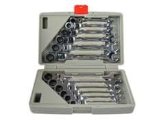 Keltin Klíče ráčnové očkoploché s kloubem 8-19mm 12ks