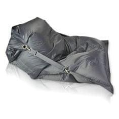 PrimaBag Sedací vak Cushy tmavě šedá