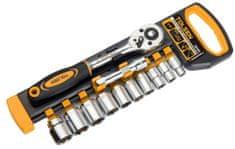 Tolsen Tools Sada 12 ks račňových kľúčov 3/8 8-19, TOLSEN - INDUSTRIAL