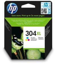 HP Tinta patron HP 304XL, színes (N9K07AE)