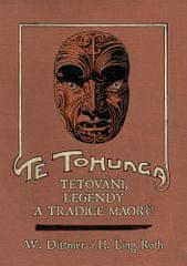 H. Ling Roth: Te tohunga - Tetování, legendy a tradice Maorů