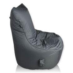 PrimaBag Sedací vak Seat TP polyester tmavě šedá