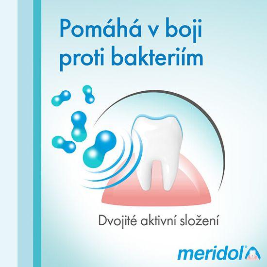 Meridol Ústna voda pre zdravé ďasná a svieži dych 400 ml