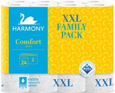 Harmony Toaletní papír Comfort 2-vrstvý 24 rolí