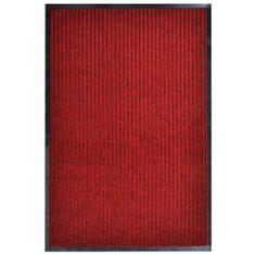Greatstore Rohožka červená 160 x 220 cm PVC