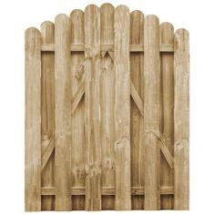 shumee Zahradní branka impregnovaná borovice 100 x 125 cm