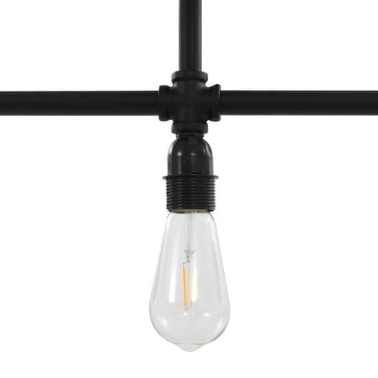 shumee Stropna svetilka črna 3 x E27 žarnice