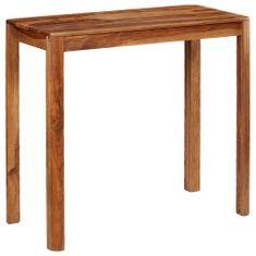 Greatstore Barový stůl 115 x 55 x 107 cm masivní sheeshamové dřevo