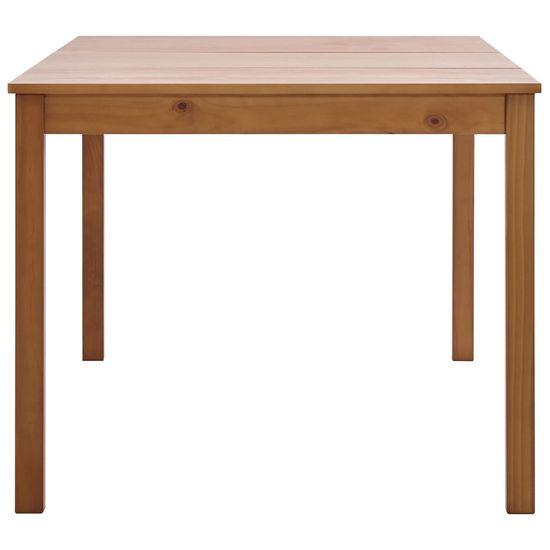 shumee Jedálenský stôl, medovo hnedý 180x90x73 cm, borovicové drevo