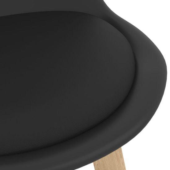 shumee 7-dielna barová súprava čierna