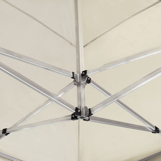 shumee Profesionálny skladací párty stan hliníkový 6x3 m krémový