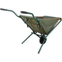 Greatstore Esschert Design Skladací fúrik zelený GT138