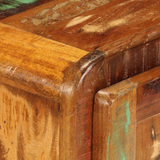 shumee Szafka nocna, 50x30x50 cm, lite drewno odzyskane