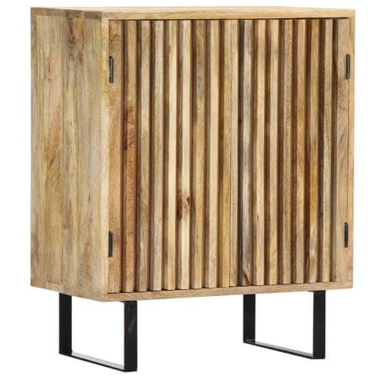 Greatstore Komoda z mangovníkového dreva 60x35x75 cm