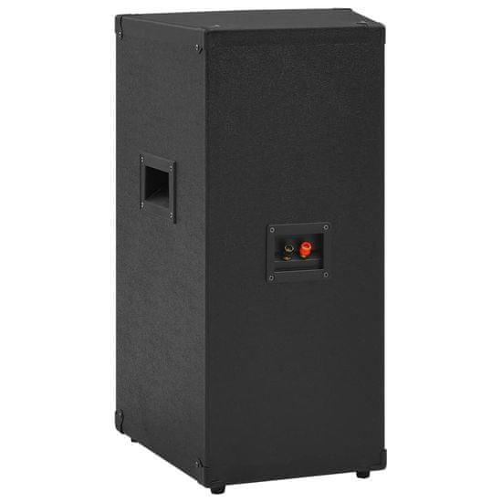 shumee Profesionálny pasívny hifi reproduktor 1000 W čierny 32x32x64cm